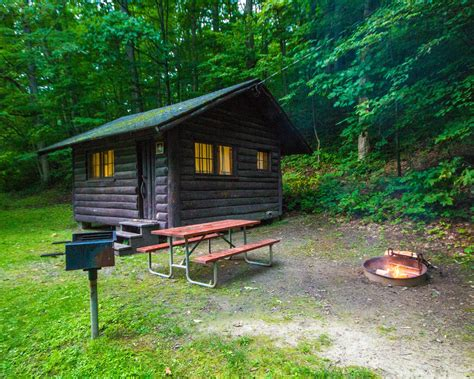 cabin park a guide to visiting letchworth state park with