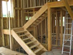 How To Make Stairs Out Of Wood by How To Build Stairs Bob Vila