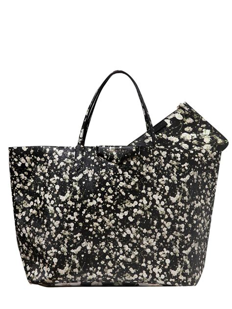 Fivency Flower Pouch givenchy large antigona floral printed tote bag in gray lyst