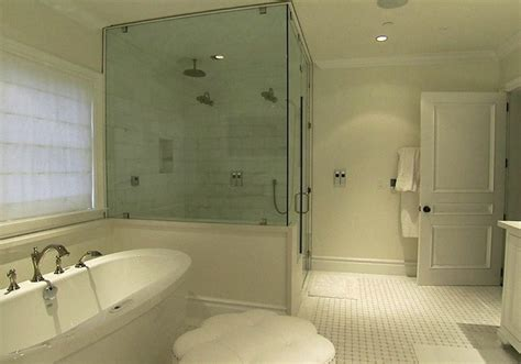 Oversized Shower Master Bath Design Traditional Bathroom Style Network