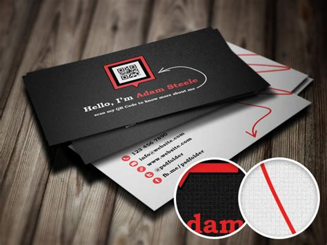 how to make qr code for business card free psd scan my qr code business cards