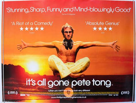 film it all gone pete tong it s all gone pete tong original cinema movie poster