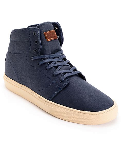 mid top skate shoes vans otw alcon blues mid top skate shoes mens at