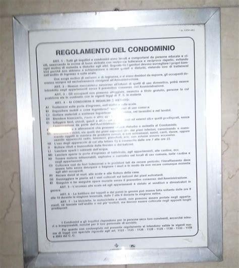 Regole Di Condominio by Menate Al Contrario Sono Quelle Cose Pagina 2