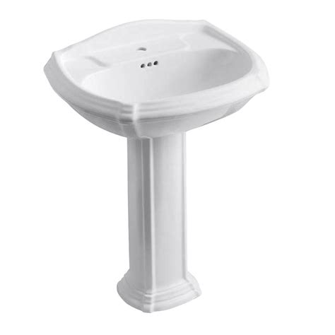 toilet sink combo home depot kohler cimarron 8 in widespread vitreous china pedestal