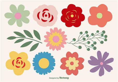 flower pattern vector graphics flower vector ai free download