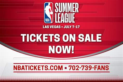 Mba Ticket by 2017 Nba Summer League Tickets On Sale Now Hallpass