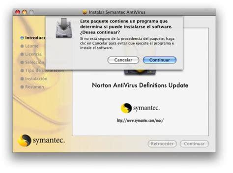 descargar norton antivirus ltima versin norton antivirus 9 0 definiciones para mac descargar