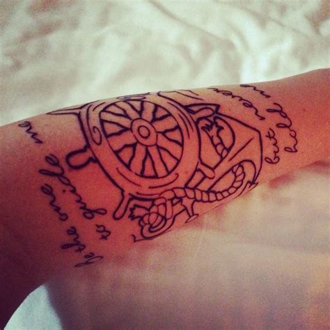 tattoo ink guide quot be the one to guide me but never hold me down quot nautical