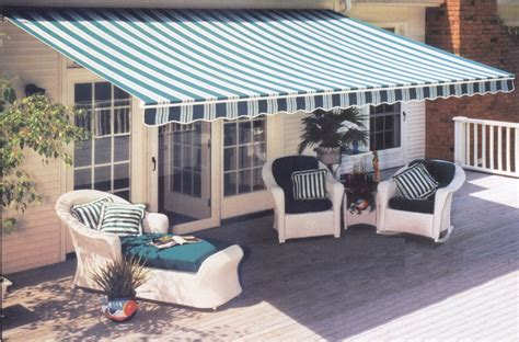 Canvas Patio Awnings by Custom Canvas Co