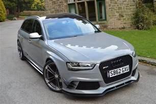 Audi A4 B8 Modified Audi A4 B8 Avant To Rs4 Kit Xclusive Customz