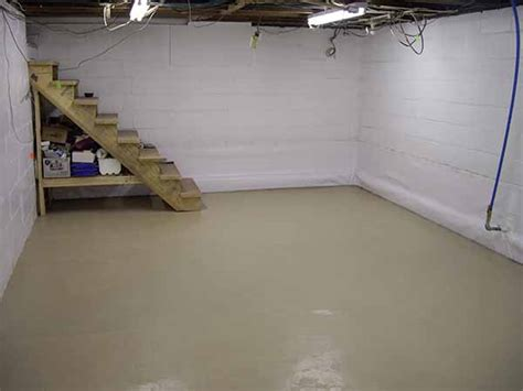 painted basement floor basement basement floors