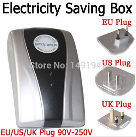 Electricity Power Saver Eu Type Power Saver Electricity Saving Box Energy Save Electricity Bill Device 90v 250v Eu Us