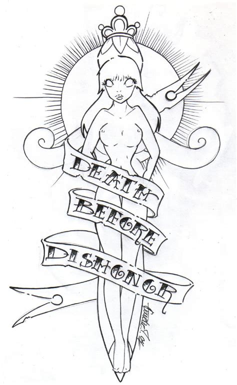 death before dishonor tattoo designs before dishonor by bettieboner on deviantart