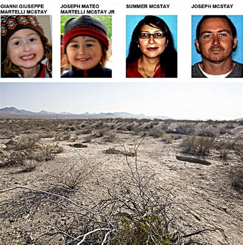joseph mcstay family found mcstay family remains found in desert but mystery deepens