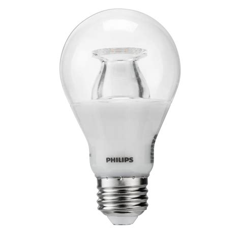 Philips A19 Led Light Bulb Philips 40w Equivalent Soft White Clear A19 Led Warm Glow