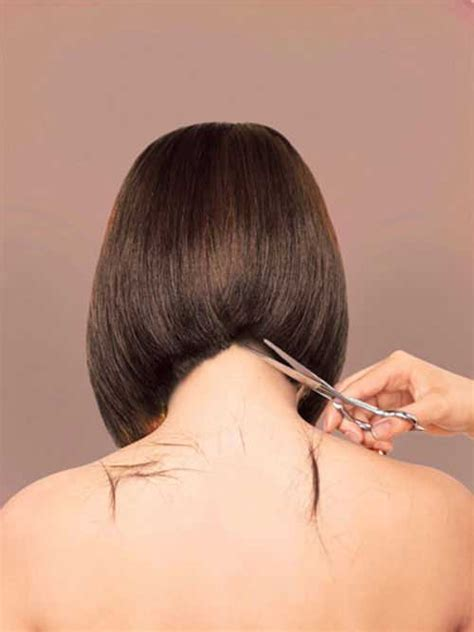 inverted bob hairstyle pictures rear view pics for gt medium length inverted bob back view
