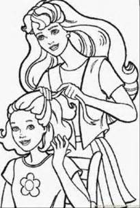 barbie doll coloring pages 1 coloring free barbie coloring pages coloringpages101