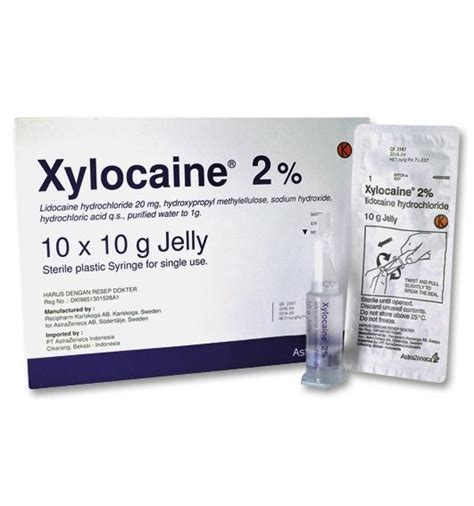 Lidocaine Shelf by Xylocaine Jelly Dosage Information Mims Indonesia