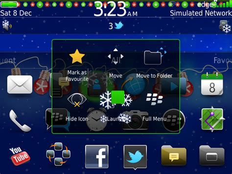 blackberry live themes free mini banner live holiday editions by
