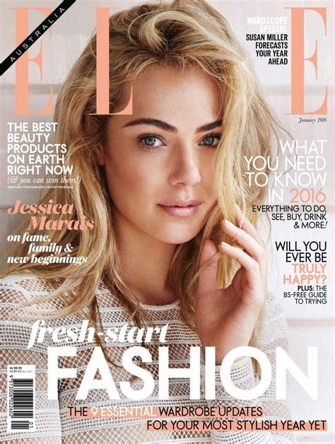 magazine usa usa fashion music news jessica marais in elle magazine