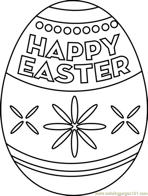easter egg coloring pages pdf happy easter egg coloring page free easter coloring