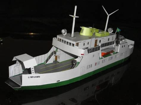 Ship Papercraft - ferry papercraftsquare free papercraft