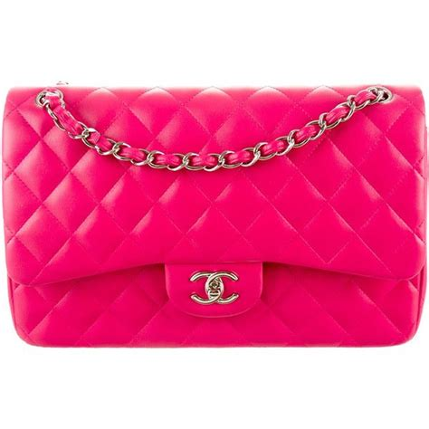 Ode To Kates Jumbo Chanel Flap by 1000 Ideas About Pink Handbags On Green