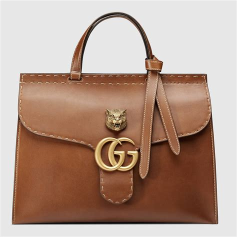 Gucci Bags by Gg Marmont Leather Top Handle Bag Gucci S Totes