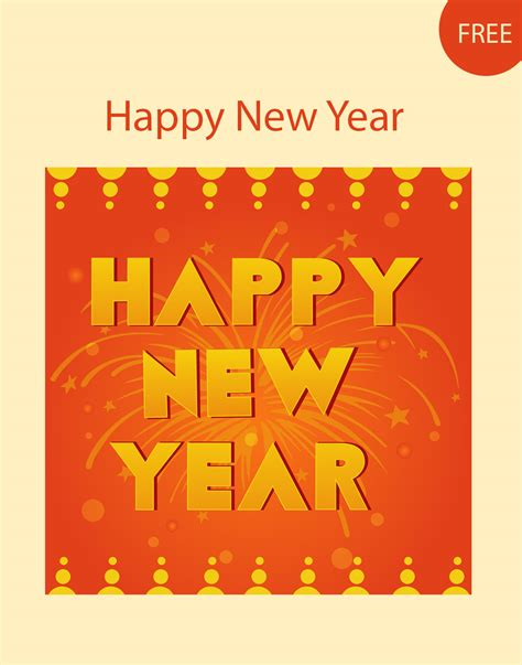 new year vector design new year vector template