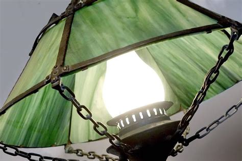 Handmade Arts And Crafts For Sale - beautiful handmade arts and crafts chandelier for sale at
