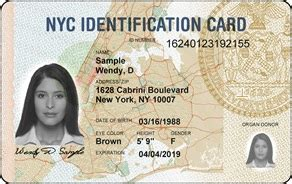 ny state id card template how to apply idnyc