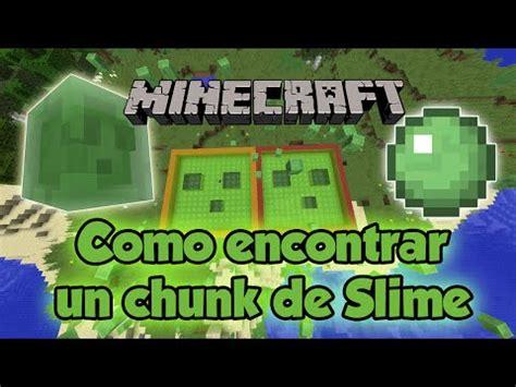 slime chunk tutorial como encontrar un chunk de slimes 1 11 1 12 tutorial