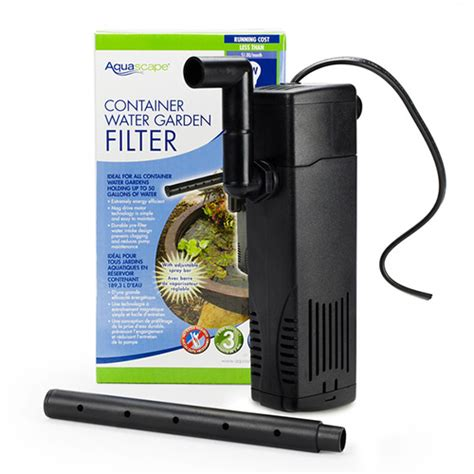 Aquascape Filter by Aquascape Container Water Garden Filter Mpn 77005 Best