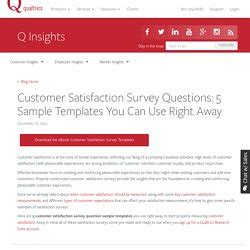Moi Topic 3 Customer Focus Pearltrees Qualtrics Survey Templates