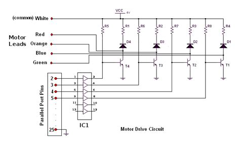 transistor stepper motor driver circuit stepper motor driver for your linux computer lg 122