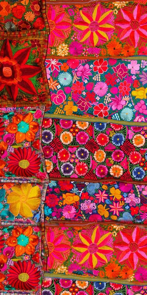 embroidery mexican 60 best textiles mexicanos images on mexican