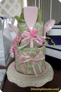 dish towel bridal shower cake be frugal not cheap 5 gift idea the simple