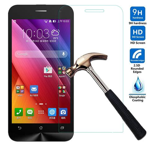 Tempered Glass Kingkong Asus Padfone S 1 ultra thin slim premium tempered glass screen protector protective for asus t45 padfone x s