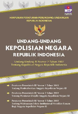 Undang Undang Perseroan Terbatas 1 jual buku undang undang kepolisian negara ri oleh tim bip scoop indonesia