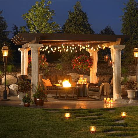 great outdoor room company a outdoor patio setup with a pergola by