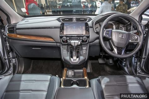 Interior All New Crv by Iims 2017 New Honda Cr V Launched In Indonesia Seven