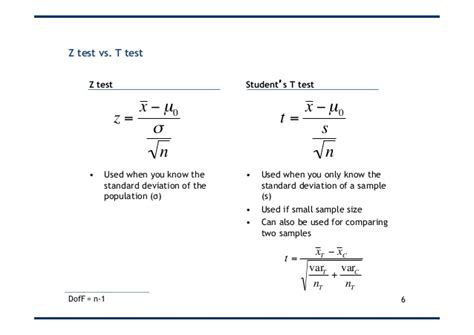 student s t test student s t test