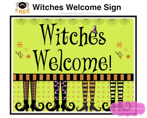 printable halloween door decorations halloween printable sign door festival collections