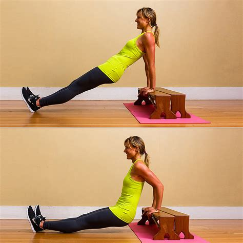 Floor Tricep Dips by Triceps Dips On The Coffee Table No Excuses Workout 10