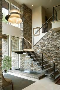 Modern Staircase Design 10 Indoor Water Features That You Ll Actually Want In Your Home Photos Huffpost