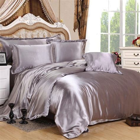 silk bedroom best 25 silver bedding ideas only on pinterest