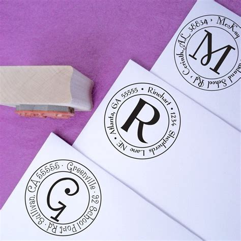 small custom rubber sts 1000 ideas about return address sts on