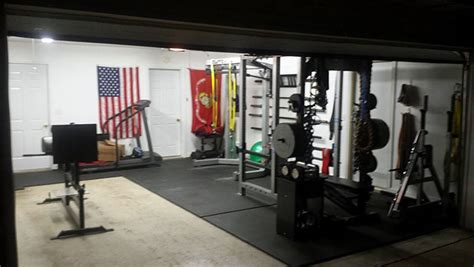 garage ideas diy crossfit equipment setting up a