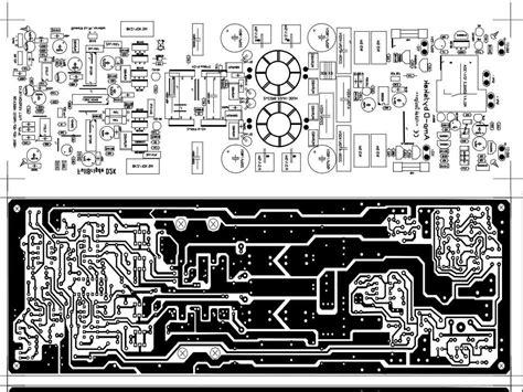 Power Lifier Class D D2k Neo power lifier class d fullbridge d2k 2000watts electronic circuit